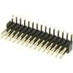 Kolíková lišta kolíkové vidlice PIN:30 svislý 1,27mm SMT