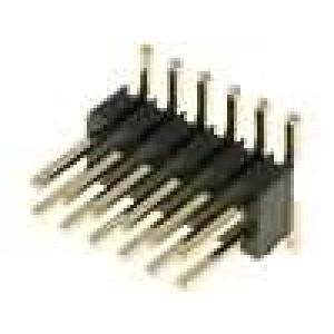 Kolíková lišta kolíkové vidlice PIN:12 svislý 1,27mm SMT 2x6