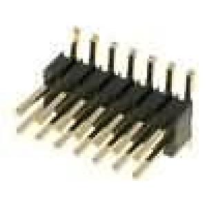 Kolíková lišta kolíkové vidlice 14PIN svislý 1,27mm SMT 2x7