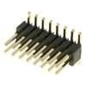 Kolíková lišta kolíkové vidlice 16 PIN svislý 1,27mm SMT 2x8