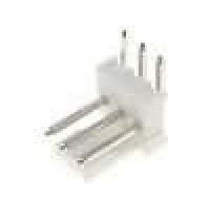 Konektor kabel-pl.spoj řada MLAS100 vidlice zásuvka 3PIN