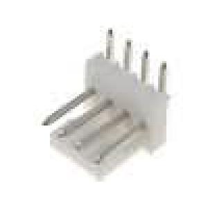 Konektor kabel-pl.spoj řada MLAS100 vidlice zásuvka 4PIN
