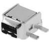 Zásuvka IEEE1394 mini SMT 4 PIN vodorovné zlacený