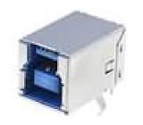 Zásuvka USB B THT úhlové 90° V USB 3.0