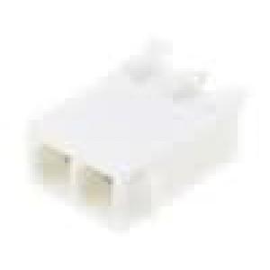 Zásuvka kabel-pl.spoj vidlice 4,14mm 2PIN pocínovaný 600V