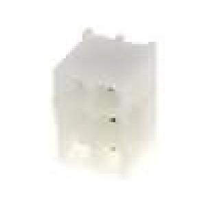 Zásuvka kabel-pl.spoj vidlice 6,35mm 6 PINpocínovaný 600V