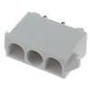 Zásuvka kabel-kabel/plošný spoj zásuvka 6,35mm 3 PIN19A