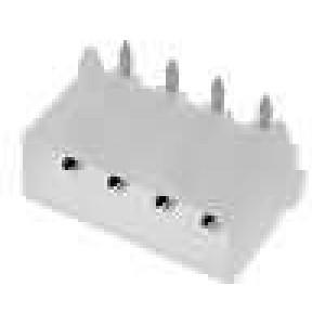 Zásuvka kabel-pl.spoj vidlice 5,08mm 4 PIN UL94V-2 250V THT