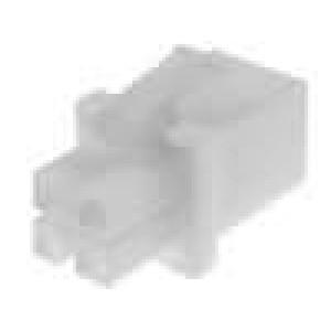 Zástrčka vodič-vodič utěsněný 4,14mm 4 PIN UL94V-0 600V