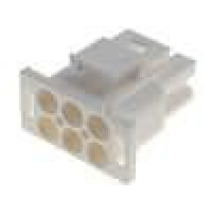 Zástrčka vodič-vodič vidlice/zásuvka bez kontaktů 6,35mm