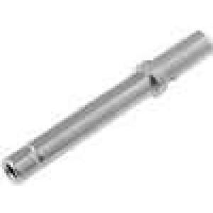 Kontakt zásuvka 0,2-0,5mm2 DTM Rozměr:20 niklovaný volně