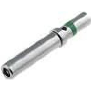 Kontakt zásuvka 1-2mm2 DT Rozměr:16 niklovaný krimpovací