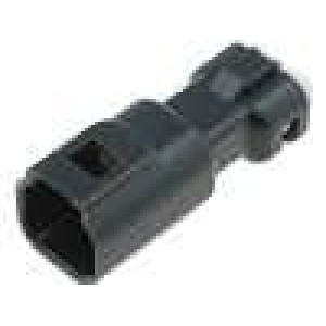 Konektor vodič-vodič 565 zástrčka vidlice 2PIN IP67 9,1mm
