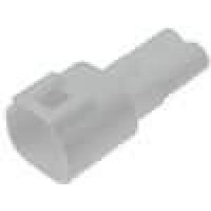 Konektor vodič-vodič 570 zástrčka vidlice 2PIN IP67 300V