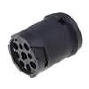 Konektor vodič-vodič AHD zástrčka vidlice 9 PIN na kabel