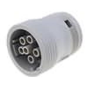 Konektor vodič-vodič AHD zástrčka zásuvka 6 PINna kabel