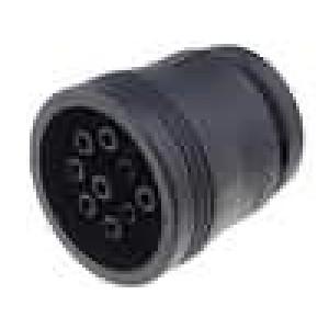 Konektor vodič-vodič AHD zástrčka zásuvka 9 PIN na kabel