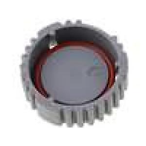 Kryt zásuvky AHD 9 PIN barva šedá