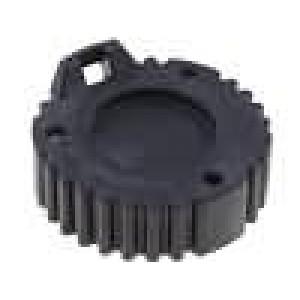 Kryt zásuvky AHD 9 PIN barva černá