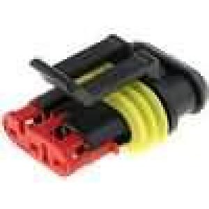 Konektor vodič-vodič Superseal 1.5 zástrčka zásuvka 3PIN