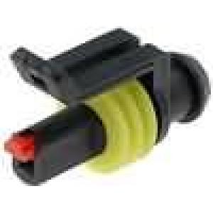 Konektor vodič-vodič Superseal 1.5 zástrčka zásuvka PIN:1