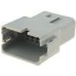 Konektor vodič-vodič AT zástrčka vidlice 12PIN na kabel