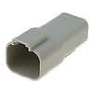 Konektor vodič-vodič AT zástrčka vidlice 4 PIN na kabel