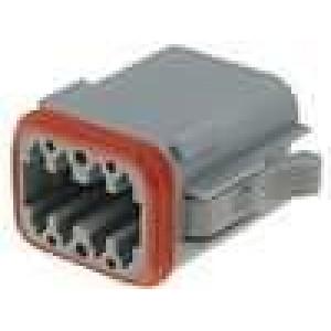 Konektor vodič-vodič AT zástrčka zásuvka 8 PIN na kabel