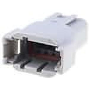 Konektor vodič-vodič ATM zástrčka vidlice 8 PIN IP69K