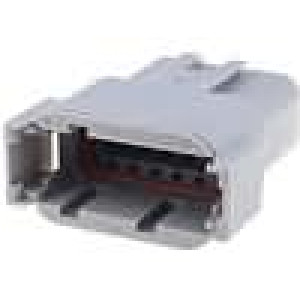 Konektor vodič-vodič ATM zástrčka vidlice 12PIN IP69K