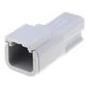 Konektor vodič-vodič ATM zástrčka vidlice 2PIN IP69K