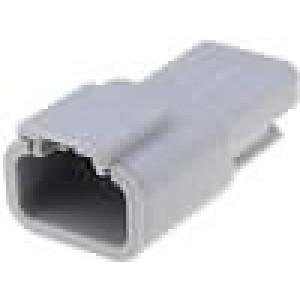 Konektor vodič-vodič ATM zástrčka vidlice 3 PINIP69K