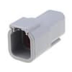 Konektor vodič-vodič ATM zástrčka vidlice 6 PINIP69K