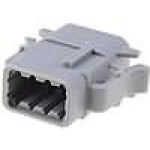 Konektor vodič-vodič ATM zástrčka zásuvka 8 PIN IP69K