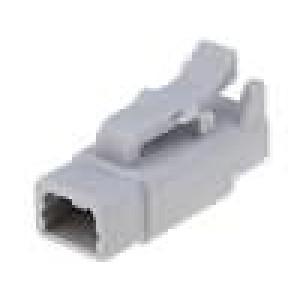 Konektor vodič-vodič ATM zástrčka zásuvka 2PIN IP69K