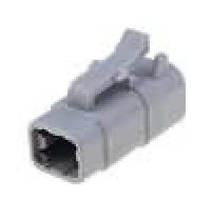 Konektor vodič-vodič ATM zástrčka zásuvka 4 PIN IP69K