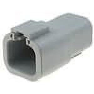 Konektor vodič-vodič ATP zástrčka vidlice 4 PIN na kabel
