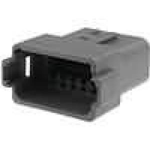 Konektor vodič-vodič DT zástrčka vidlice 12PIN na kabel