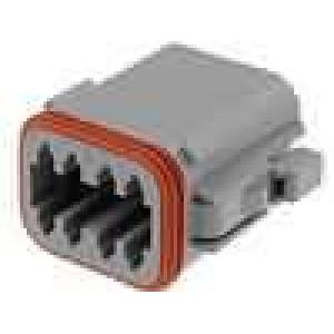 Konektor vodič-vodič DT zástrčka zásuvka 8 PIN na kabel