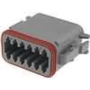 Konektor vodič-vodič DT zástrčka zásuvka 12PIN na kabel