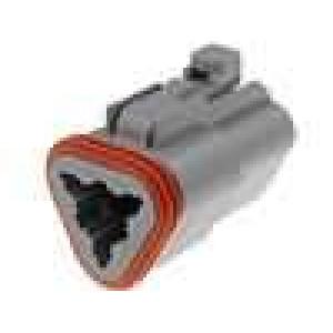Konektor vodič-vodič DT zástrčka zásuvka 3 PINna kabel