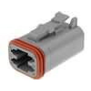 Konektor vodič-vodič DT zástrčka zásuvka 4 PIN na kabel