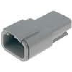 Konektor vodič-vodič DTM zástrčka vidlice 3 PINIP69K