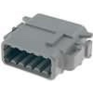 Konektor vodič-vodič DTM zástrčka zásuvka 12PIN IP69K