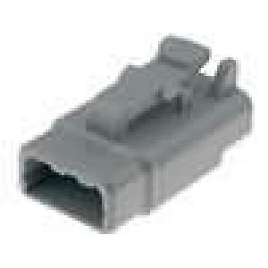 Konektor vodič-vodič DTM zástrčka zásuvka 3 PINIP69K