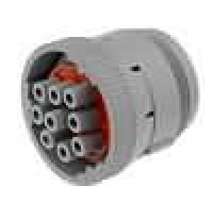 Konektor kulatý HD10 zástrčka zásuvka 9 PIN na kabel