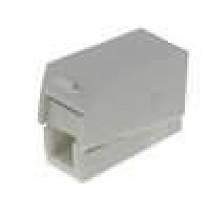 Svorka instalační, rychlosvorka pružinová svorka 0,5-2,5mm2
