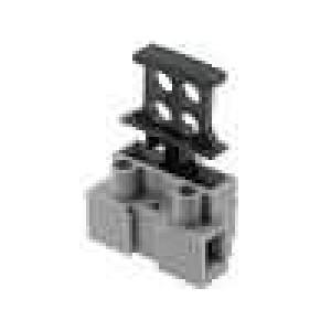 Svorkovnice póly:1 šroubová svorka 1x pojistka 0,5-2,5mm2