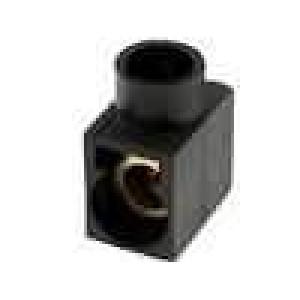 Svorkovnice póly:1 šroubová svorka černá 400V Mat polyamid