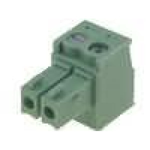 Rozpojovací svorkovnice zástrčka zásuvka přímý 0,5-1,5mm2